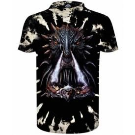 T-Shirt Enfant DARK WEAR - Dragon Head Tie & Dye