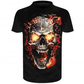 T-Shirt Enfant SPIRAL - Skull Blast