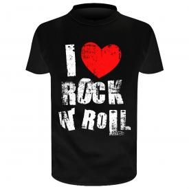 T-Shirt Enfant DIVERS - I Love Rock N Roll