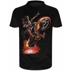T-Shirt Enfant SPIRAL - Hell Rider by Anne Stokes