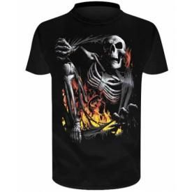 T-Shirt Enfant Spiral DARK WEAR - Death Re Ripped