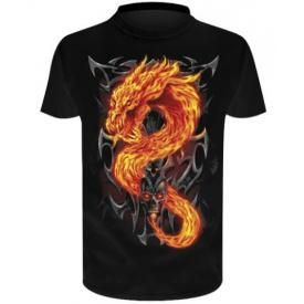T-Shirt Enfant Spiral DARK WEAR - Fire Dragon