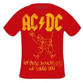 T-Shirt Enfant AC/DC - For Those About To Rock