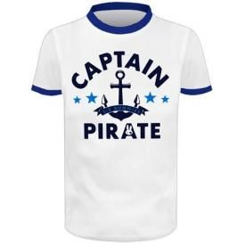 T-Shirt Enfant SIX BUNNIES - Captain Pirate