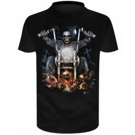 T-Shirt Enfant DARK WEAR - Hellrider Glow