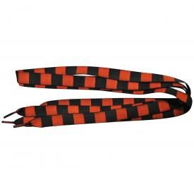 Lacets DAMIER - Black & Red