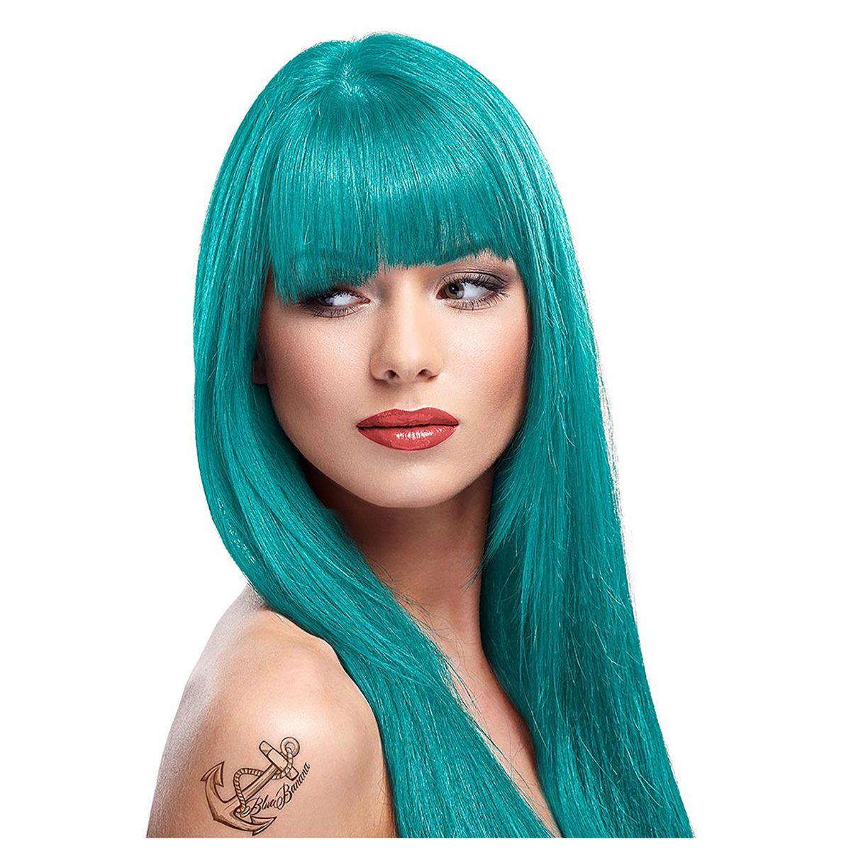 zoom 1 - Coloration Cheveux Bleu Turquoise