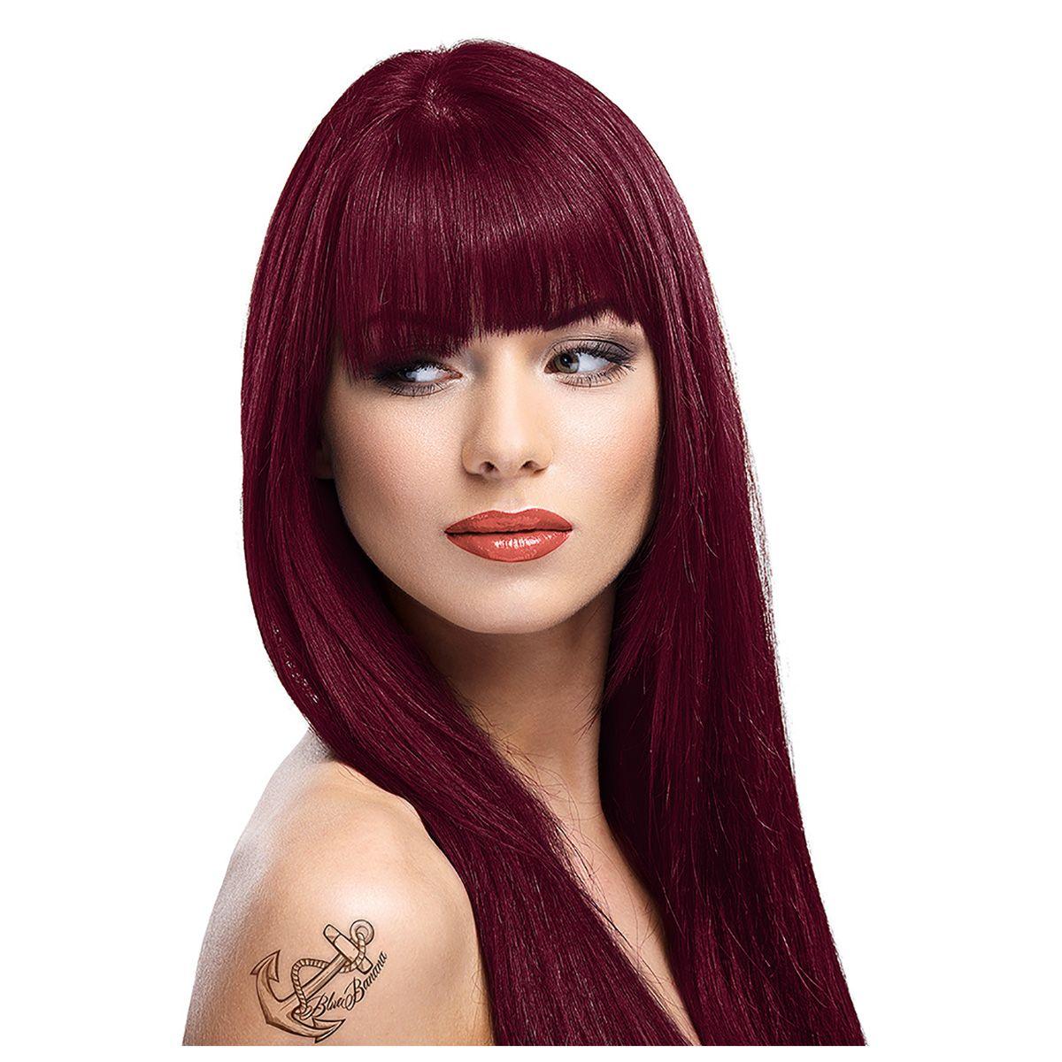 zoom 1 - Coloration Cheveux Bordeau