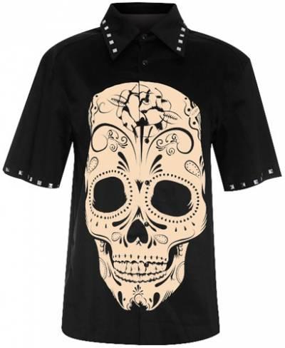 Iron Fist T-shirt Rosa Hommes Beige T Shirt taille moyenne