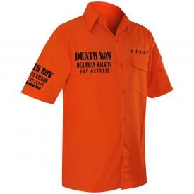 Chemise Mec JAWBREAKER - Death Row Orange