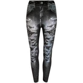 Leggings All Over LONG - Jeans Noir