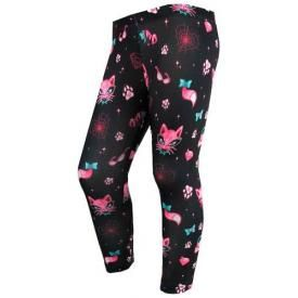 Leggings Long Fillette SIX BUNNIES - Miss Kitty