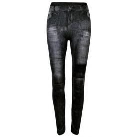 Leggings All Over LONG - Slim Jeans Patch