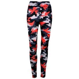 Leggings All Over LONG - Camouflage Rouge