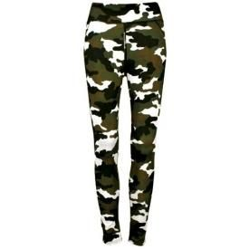 Leggings All Over LONG - Camouflage Kaki