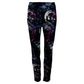 Leggings All Over LONG - Flowers