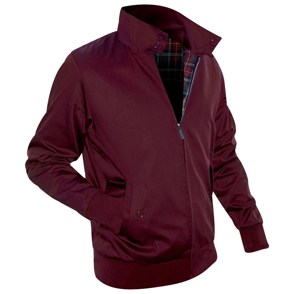 Harrington Gogo Homme Rock Veste A Bordeaux aZ57qawxY