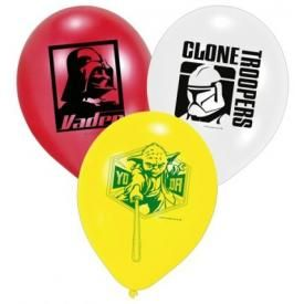 Pack de 6 Ballons STAR WARS - Characters