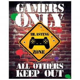Poster JEUX VIDÉO - Gamers Only