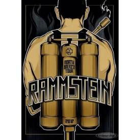 Poster RAMMSTEIN - North America Tour 2012