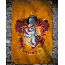 Mini Poster HARRY POTTER - Gryffindor Flag