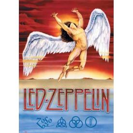 Poster LED ZEPPELIN - Swan Song