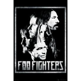 Poster FOO FIGHTERS - Group