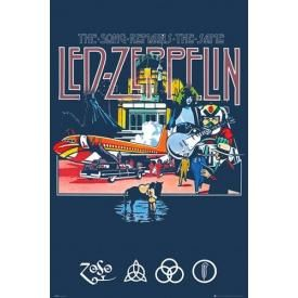 Poster LED ZEPPELIN - The Song Remains The Same