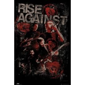 Poster RISE AGAINST - Postersize