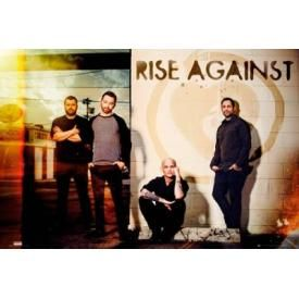Poster RISE AGAINST - Line Up