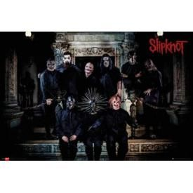 Poster SLIPKNOT - Gray Chapter Band