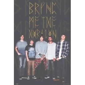 Poster BRING ME THE HORIZON - Black