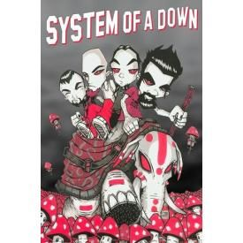 Poster SYSTEM OF A DOWN - Characters