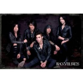 Poster BLACK VEIL BRIDES - Group Sit