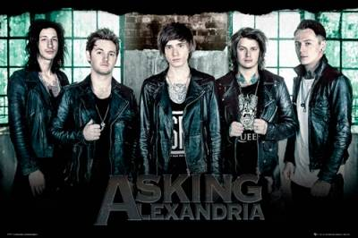 poster asking alexandria window posters rock a gogo. Black Bedroom Furniture Sets. Home Design Ideas