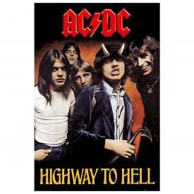 Poster AC/DC - Highway To Hell Cover