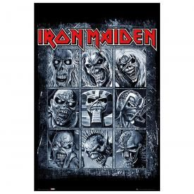 Poster IRON MAIDEN - 9 Eddies