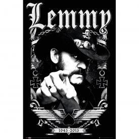Poster MOTÖRHEAD - Lemmy Pointing