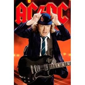 Poster AC/DC - Angus Young Live