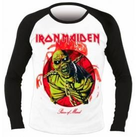 T-Shirt Mec Manches Longues IRON MAIDEN - Piece Of Mind