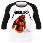 T-Shirt Manches Longues METALLICA - Jump In the Fire