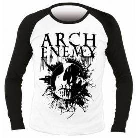 T-Shirt Mec Manches Longues ARCH ENEMY - Skull