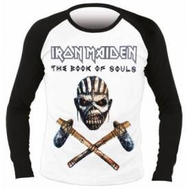T-Shirt Mec Manches Longues IRON MAIDEN - The Book Of Souls