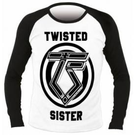 T-Shirt Mec Manches Longues TWISTED SISTER - Logo