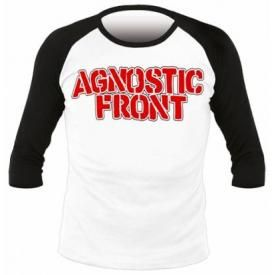 T-Shirt Mec Manches 3/4 AGNOSTIC FRONT - Never Walk Alone