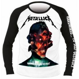 T-Shirt Mec Manches Longues METALLICA - Hardwired...