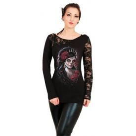 T-Shirt Manches Longues Femme SPIRAL - Day Of The Dead