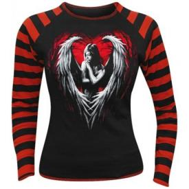 Tee Shirt Femme Manches Longues Spiral DARK WEAR - Angel Heart