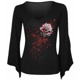 T-Shirt Manches Longues Femme SPIRAL - White Rose