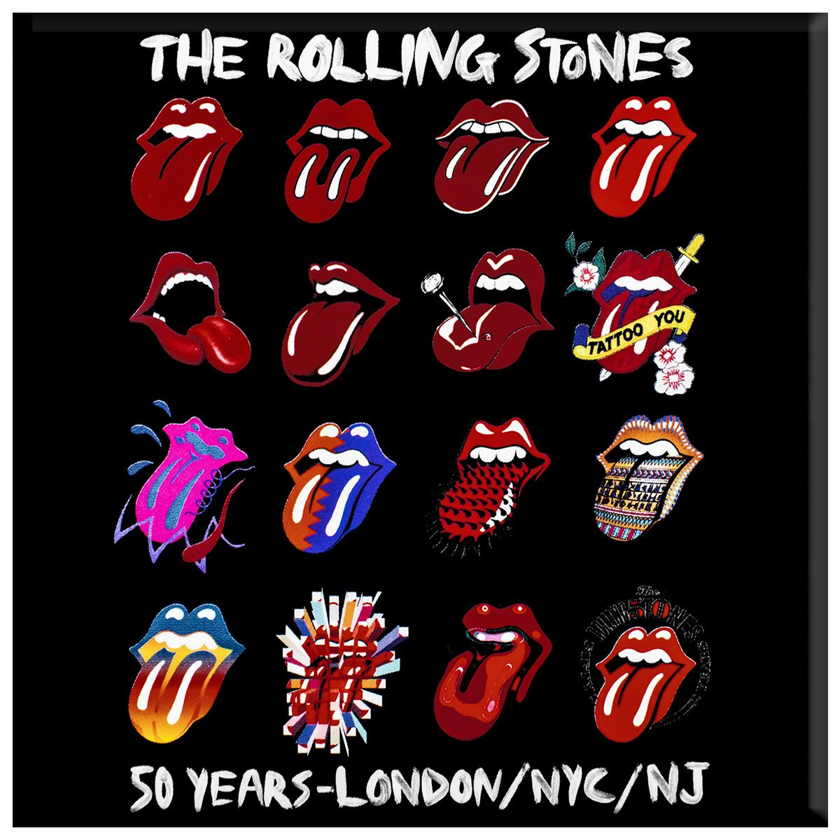 Grand Magnet ROLLING STONES - Evolution - Magnets - Rock A ...